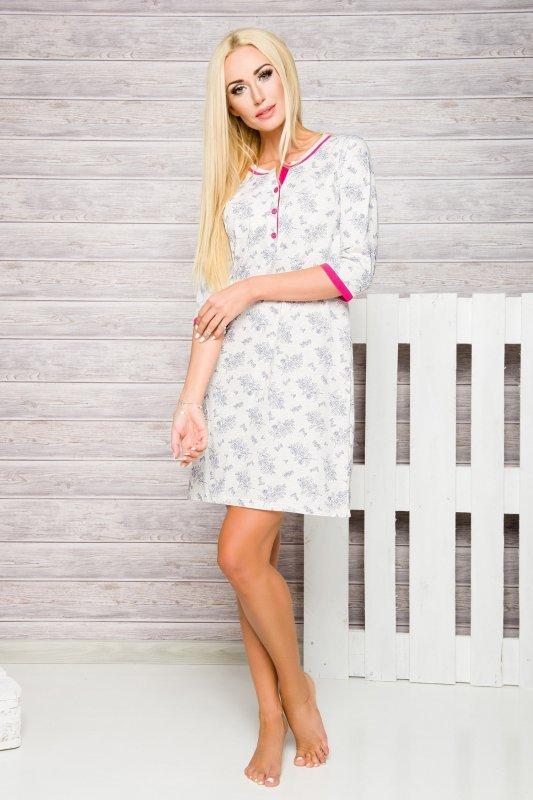 Taro 2123 Fabia różowy koszula nocna
