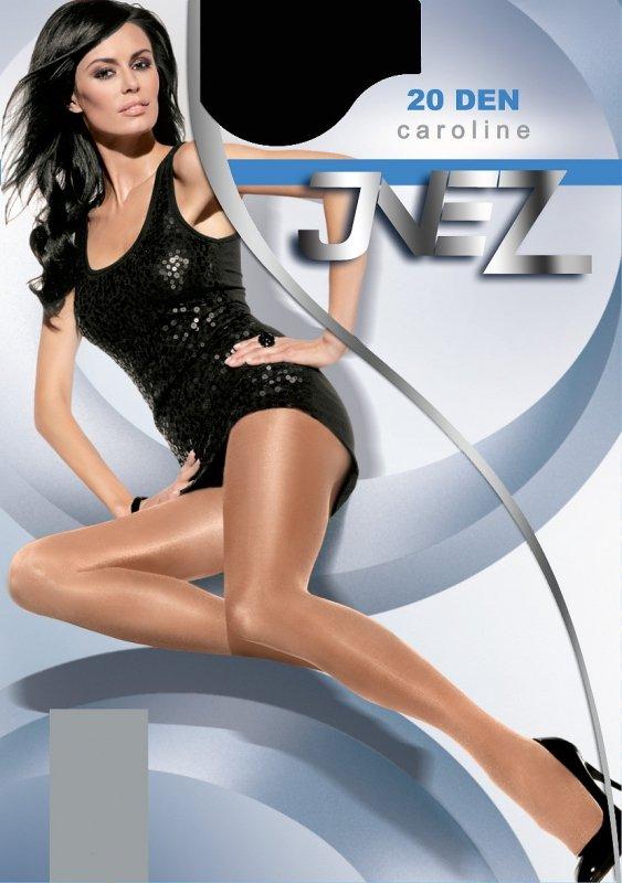 Inez Caroline Elastil 20 den 6-3XL rajstopy