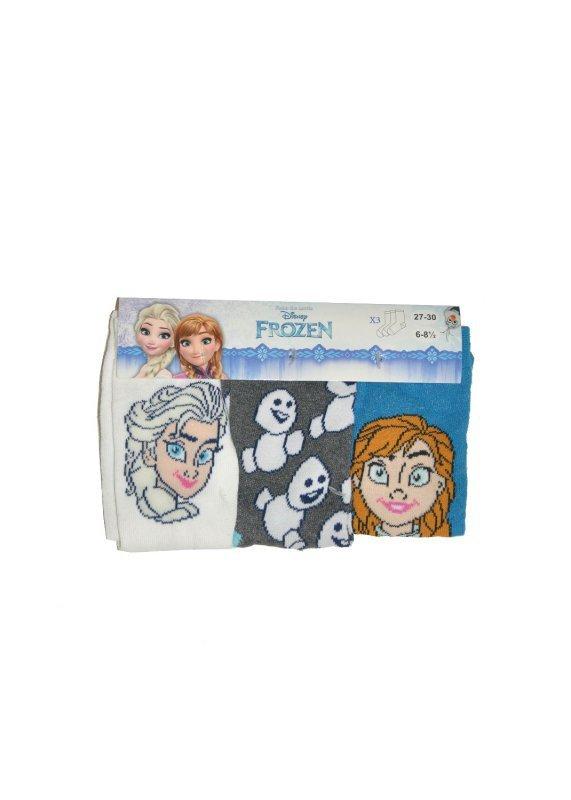 Disney 29298 Mix Dziewczęce A'3 3-pack skarpetki