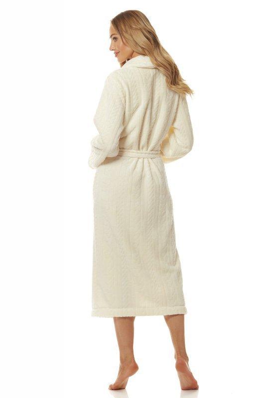 L&L 2118 Athena długi szlafrok damski