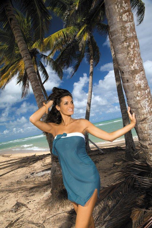 4b51689c75 Tunika plażowa Marko Mia Sharm M-241 Morski (229) - Sukienki plażowe ...