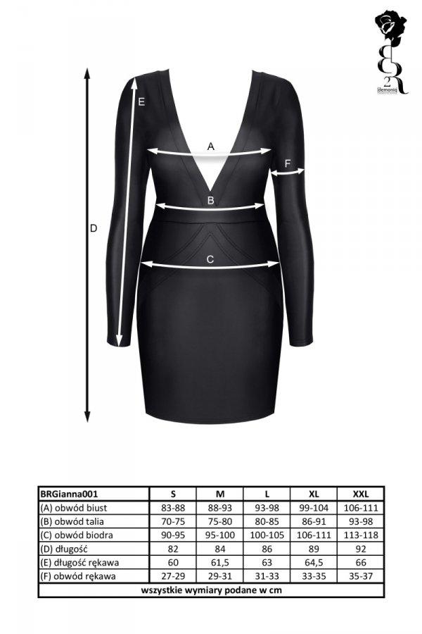 Demoniq BRGianna001 Sukienka