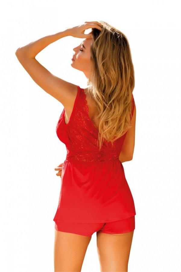 Dkaren Christine czerwona Piżama damska