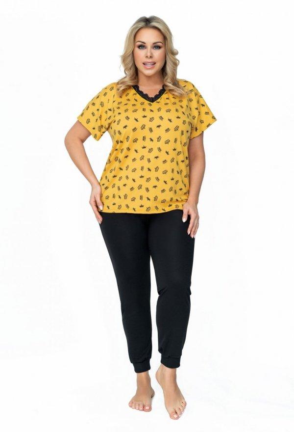 Donna Queen dł. spodnie Piżama damska Size Plus