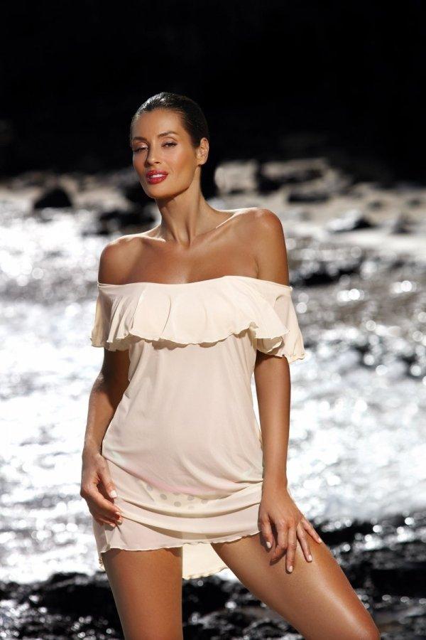 Marko Tunika plażowa Juliet M-461 Avorio