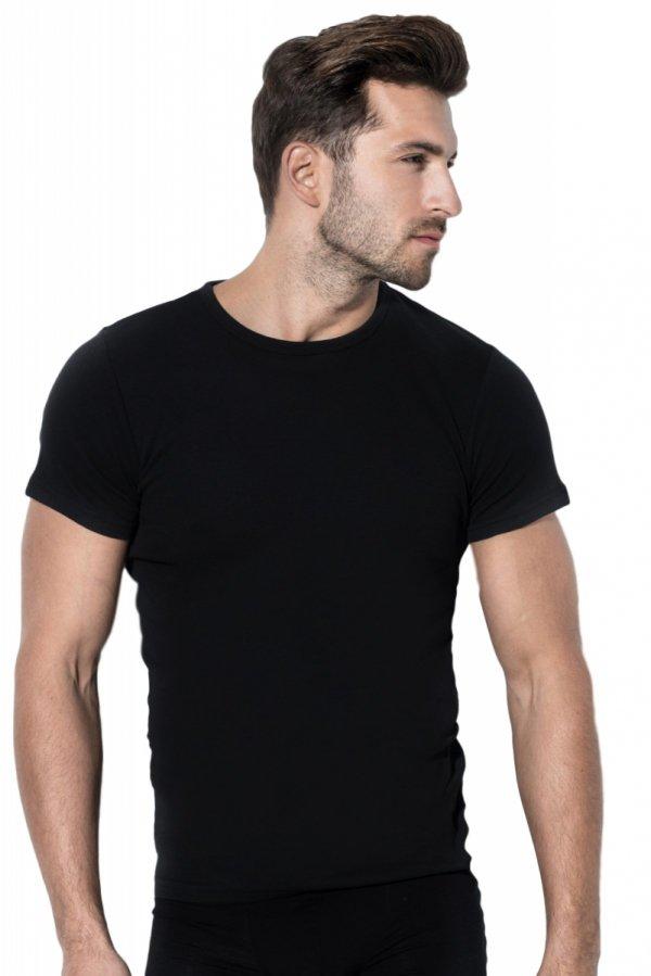 Rossli MTP-001 czarny Koszulka męska