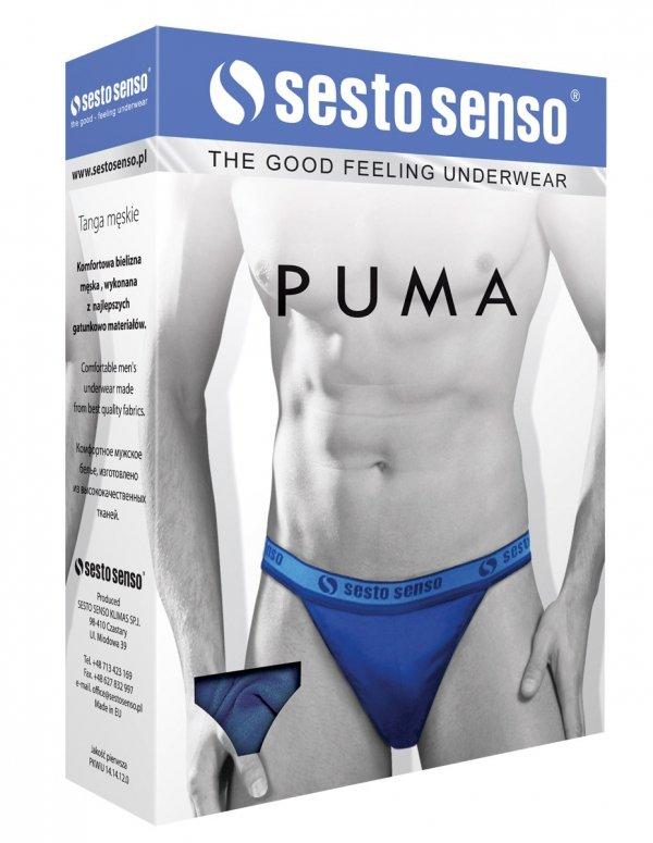 Sesto Senso Puma czerwony Slipy męskie