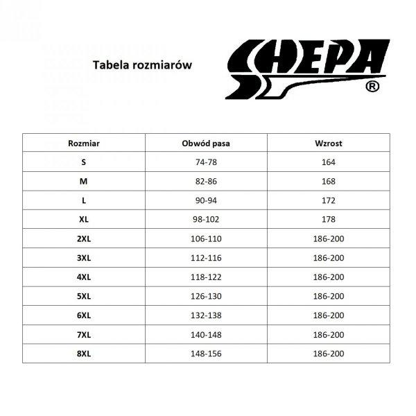 Shepa 051-B1/R19 Kąpielówki plus size