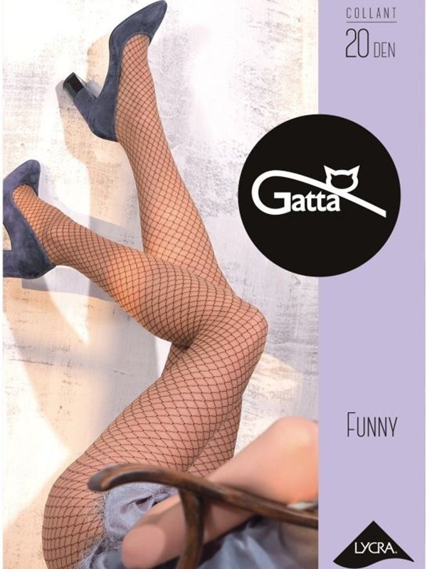e90e59cdd9037e Gatta Funny 03 rajstopy - Rajstopy - Piękne nogi - Bielizna damska,