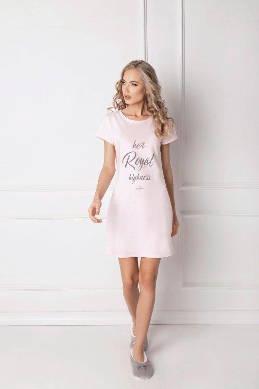 82b4901bd4e639 Aruelle Highness Pink koszula nocna - Koszule i koszulki nocne ...