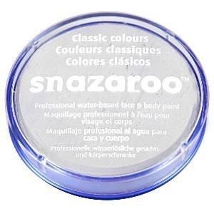 Snazaroo - farbka do malowania twarzy - BIAŁA