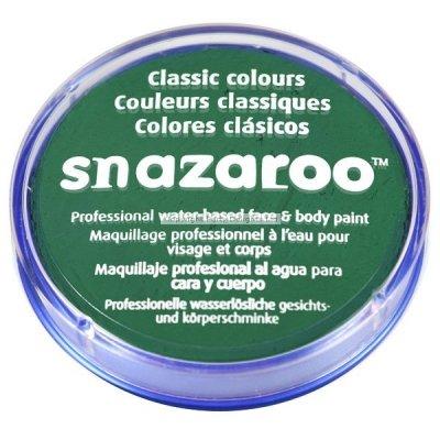Snazaroo - farbka do malowania twarzy - ZIELONA