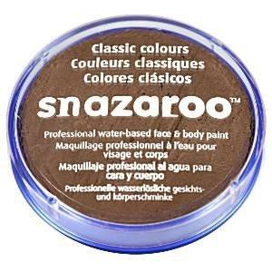 Snazaroo - farbka do malowania twarzy - JASNY BRĄZ