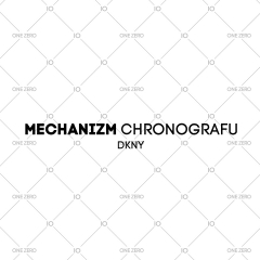 mechanizm chronografu DKNY