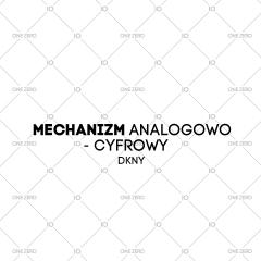 mechanizm analogowo - cyfrowy DKNY