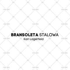 bransoleta stalowa Karl Lagerfeld