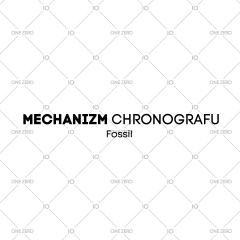 mechanizm z chronografem Fossil