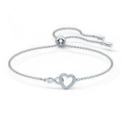 bransoletka Swarovski Infinity Heart