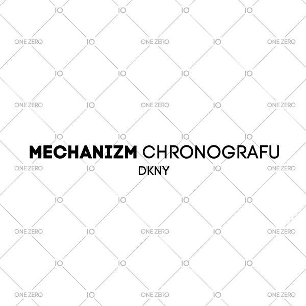 mechanizm chronografu DKNY • ONE ZERO • Modne zegarki i biżuteria • Autoryzowany sklep