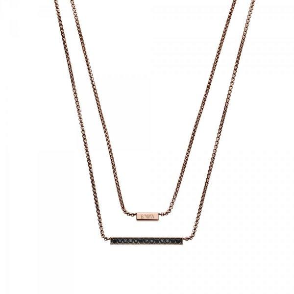 naszyjnik Emporio Armani EGS2447221 • ONE ZERO • Modne zegarki i biżuteria • Autoryzowany sklep