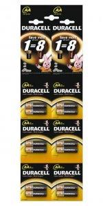 DURACELL Basic AA HBDC 6x2szt