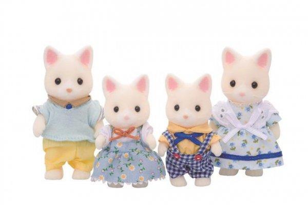 Sylvanian Families Rodzina jedwabistych kotków