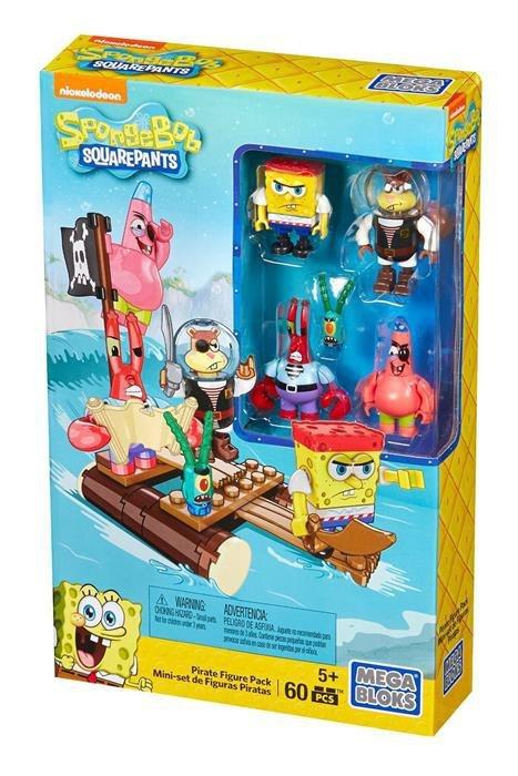 Mega Bloks Spongebob Piraci - zestaw