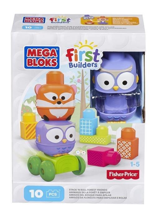 Mega Bloks First Builders Przyjaciele z dżungli Ast