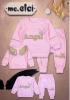 różowy dres dla dziewczynki