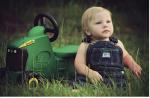 Traktorki, przyczepki, kombajny i inne pojazdy rolnicze małego pasjonata życia wiejskiego