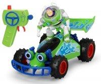 Toy Story 4 Samochód Buggy i Figurka Buzz Astral RC Dickie 3154000
