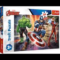Puzzle Maxi W Świecie Avengersów 24 el. Trefl 14321