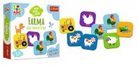 Gra Edukacyjna Farma ABC Malucha Trefl 01944