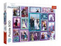 Puzzle Frozen 2 Kraina Lodu 2 Magiczna Galeria 500 el. Trefl 37392
