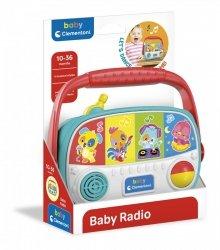 Interaktywne Baby Radio Clementoni 17470