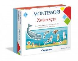 Gra Edukacyjna Montessori Zwierzęta Clementoni 50646