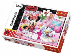 Puzzle Myszka Minnie Najlepsze przyjaciółki 30 el. Trefl 18217