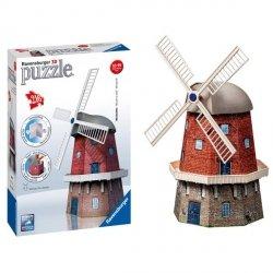Puzzle 3D Młyn Wiatrak Holenderski 3D 216 el. Ravensburger 125630