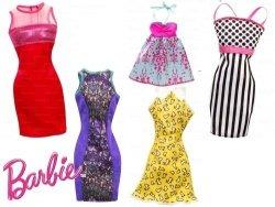 Sukienki Barbie Mattel CFX65