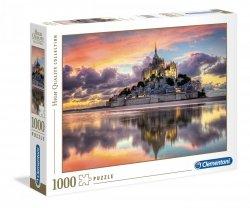 Puzzle HQ Le Magnifique Mont Saint-Michel 1000 el. Clementoni 39367