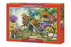Puzzle Rower w Ogrodzie 1000 el. Castorland 10389