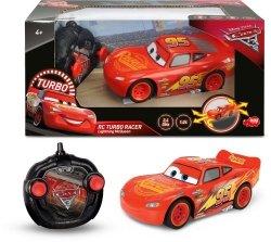 Zygzak McQueen 17 cm Auta 3 Cars zdalnie sterowany RC Dickie 3084003