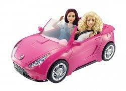 Różowy brokatowy kabriolet Barbie auto Mattel DVX59