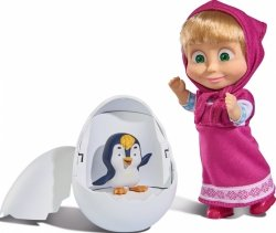 Lalka Masza z pingwinem Simba 9301003