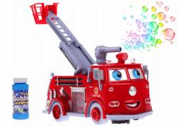 Straż Pożarna Puszczająca Bańki Mydlane światło dźwięk 23 cm