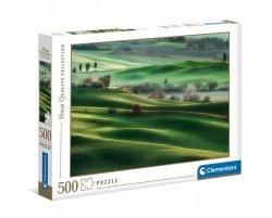 Puzzle Wzgórza Toskanii 500 el. Clementoni 35098