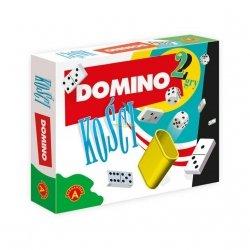 Gra Zręcznościowa 2w1 Domino kości Alexander 1385