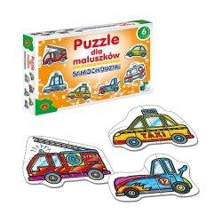 Puzzle dla Maluszków Samochodziki 27 el. Alexander 0537