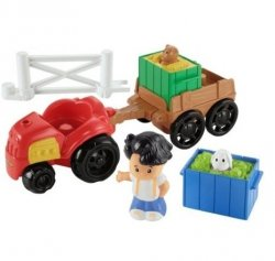 Little People Traktor z Przyczepą Fisher Price Y8202