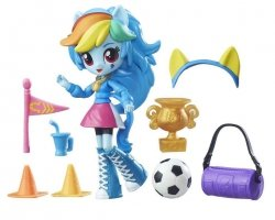 Mini Equestria Girls Rainbow Dash Piłkarka My Little Pony Hasbro B8025